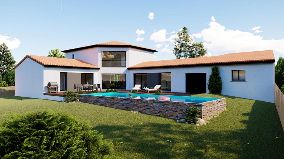 ma trise et concept des villas de constructeurs. Black Bedroom Furniture Sets. Home Design Ideas